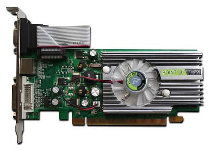 Видеокарта Point of View R-VGA150853-C GeForce 8400GS 512Mb GDDR2 64 bit