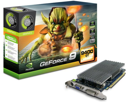 ���������� Point of View R-VGA150915-P GeForce 9400GT 1024Mb 128bit Passive