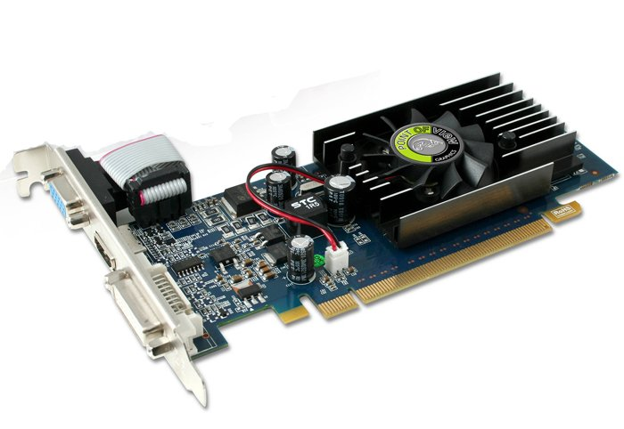 ���������� Point of View R-VGA150927-D2 GeForce 210 512Mb 64bit