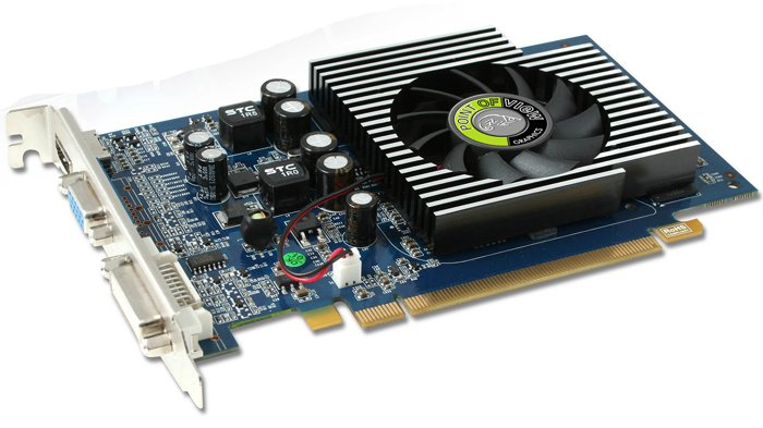���������� Point of View R-VGA150929-D3 GeForce GT220 1024Mb 128bit