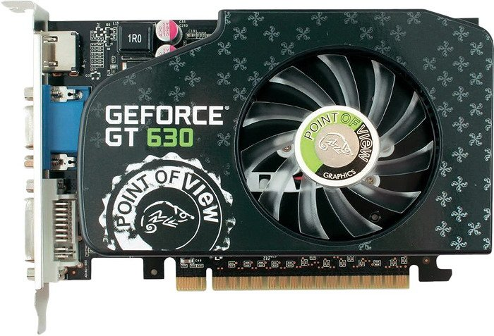 ���������� Point of View VGA-630-A1-2048 GeForce GT 630 2048MB GDDR3 128bit