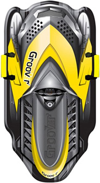 Санки-ледянка POLAR-RACER Groover Snowmobile 109 см