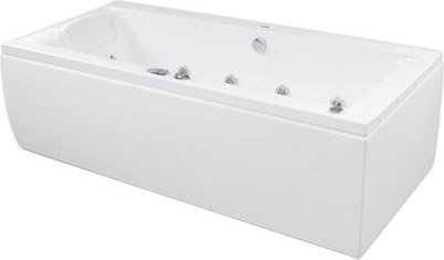 Акриловая ванна Poolspa Windsor 180x85 SILVER 2 NAVI