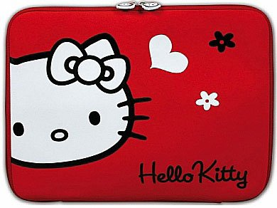 ����� ��� �������� Port Designs HELLO KITTY SKIN Red Flowers 13.3''