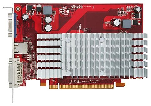 Видеокарта PowerColor AX4350 1GBD2-H Radeon HD 4350 1Gb 64bit