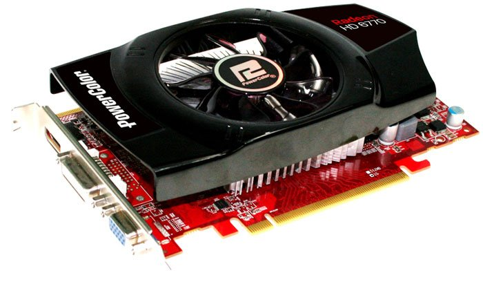 Видеокарта PowerColor AX6770 1GBD5-HV4 Radeon HD 6770 1024Mb GDDR5 128bit