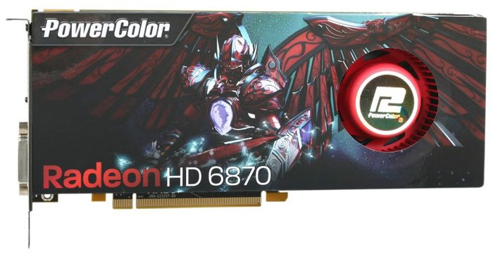 Видеокарта PowerColor AX6870 1GBD5-M2DH Radeon HD 6870 1024Mb GDDR5 256bit