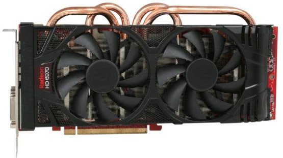 Видеокарта PowerColor AX6970 2GBD5-PP2DHG Radeon HD 6970 2Gb GDDR5 256bit фото