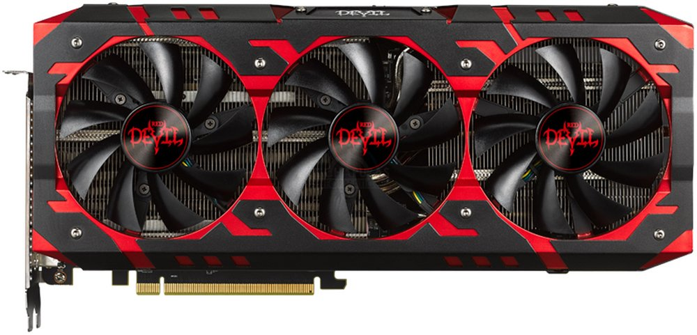 Видеокарта PowerColor Red Devil (AXRX VEGA 64 8GBHBM2-2D2H/OC) Radeon RX Vega 64 8Gb HBM2 2048bit фото