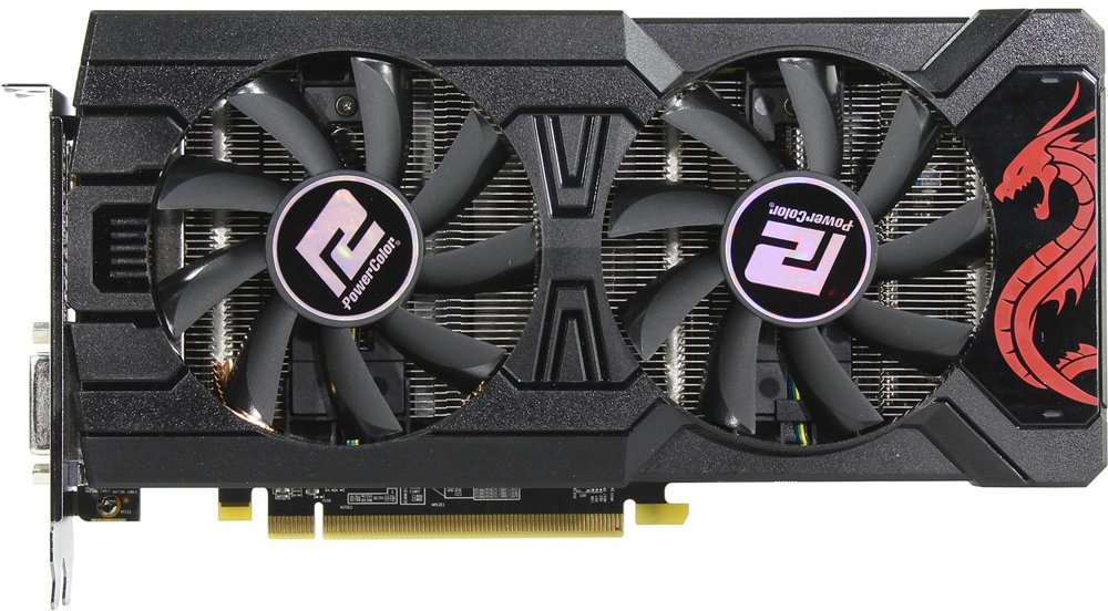 Видеокарта PowerColor Red Dragon (AXRX 570 4GBD5-3DHD/OC) Radeon RX 570 4Gb GDDR5 256bit фото
