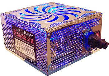 ���� ������� Powmax Assassin Blue 500W
