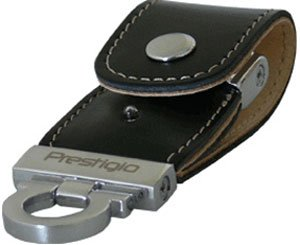 USB-флэш накопитель Prestigio Leather Data Flash Limited Edition 8GB (PLDF8GBSIBLACK)
