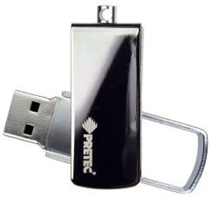 USB-флэш накопитель Pretec i-Disk Swing Reflection 1Gb