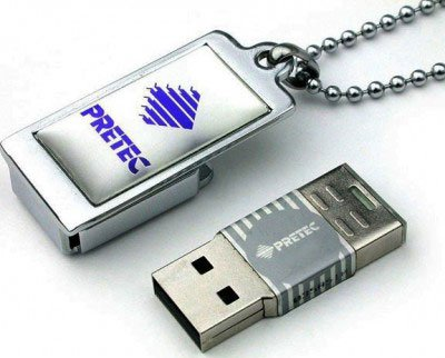 USB-���� ���������� Pretec i-Disk Tiny 2GB