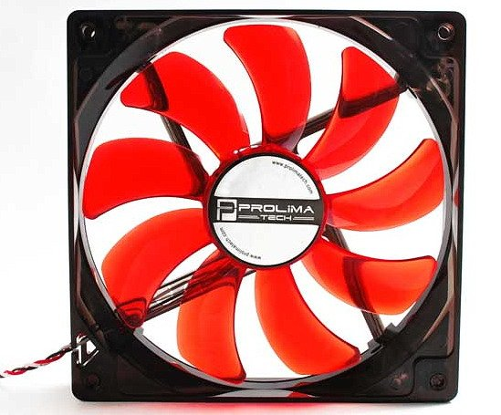 Вентилятор Prolimatech Red Vortex 14 LED