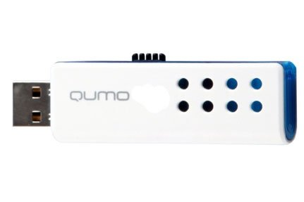 USB-флэш накопитель Qumo Domino blue 16Gb (QM16GUD-Domino-blue)
