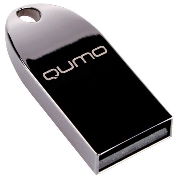 USB-флэш накопитель Qumo MetalDrive 64Gb (QM64GUD-Metal-d) фото