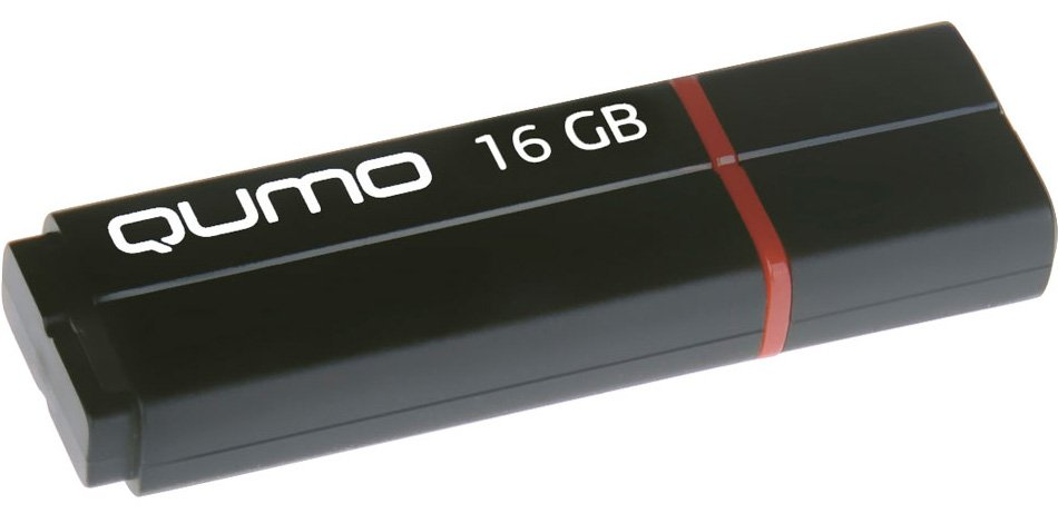 USB-флэш накопитель Qumo Speedster 3.0 16Gb (QM16GUD3-SP-black) фото