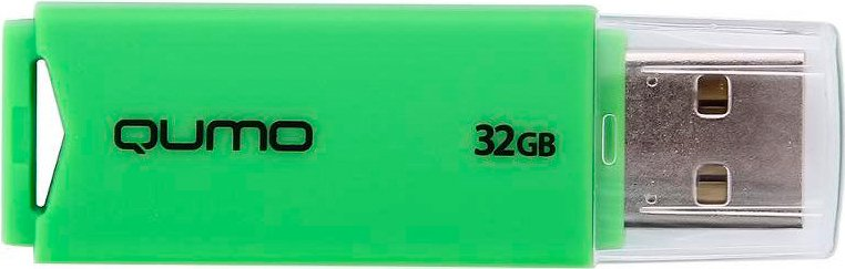 USB-флэш накопитель Qumo Tropic 32Gb (QM32GUD-TRP-Green)