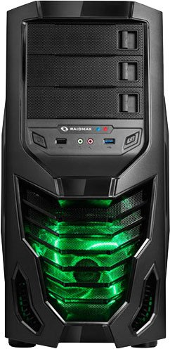 Корпус для компьютера Raidmax Cobra Black