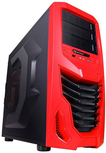 Корпус для компьютера Raidmax Cobra Red
