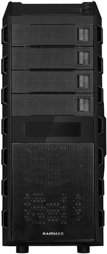 Корпус для компьютера Raidmax Super Altas Black