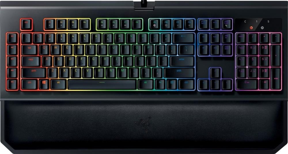 Клавиатура Razer BlackWidow Chroma V2 (Green Switch) фото