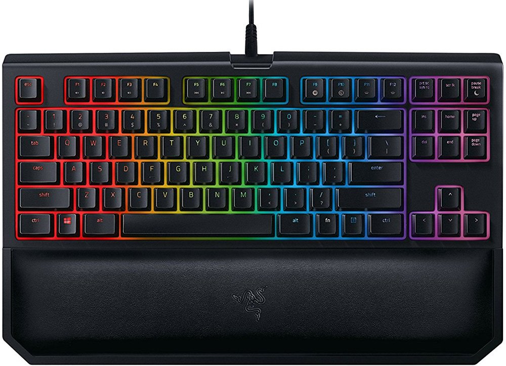 Клавиатура Razer BlackWidow Tournament Chroma V2 (Orange Switch) фото