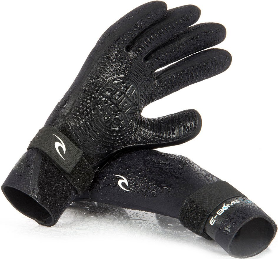 Гидроперчатки Rip Curl E-Bomb 2mm Gloves (black, 2018) фото