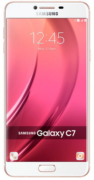 Мобильный телефон Samsung Galaxy C7 (32Gb) Pink Gold (SM-C7000)