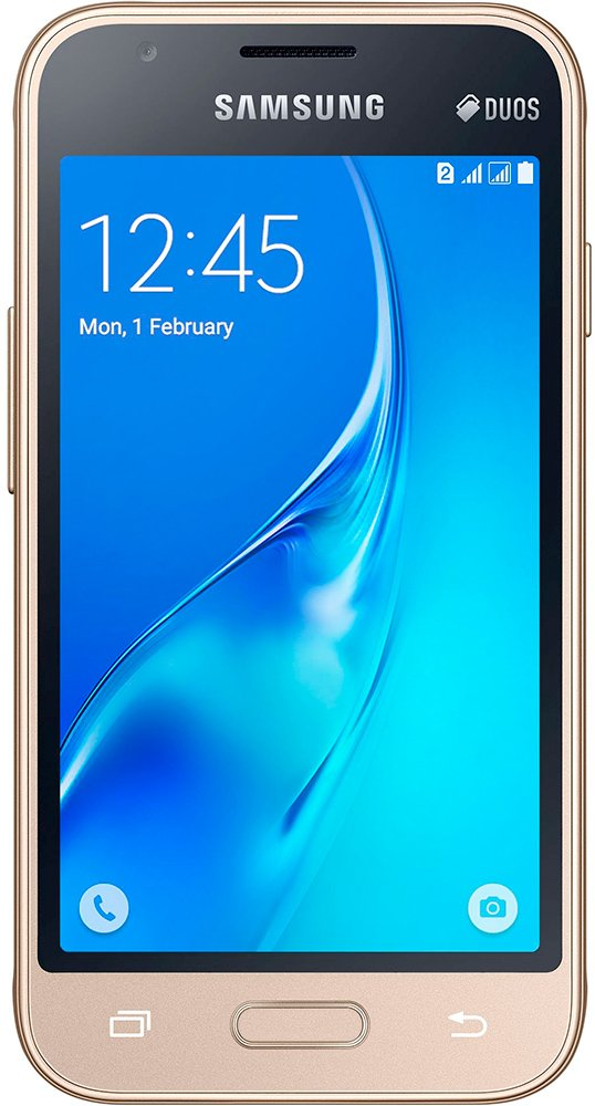 Мобильный телефон Samsung Galaxy J1 mini Gold (SM-J105H/DS)