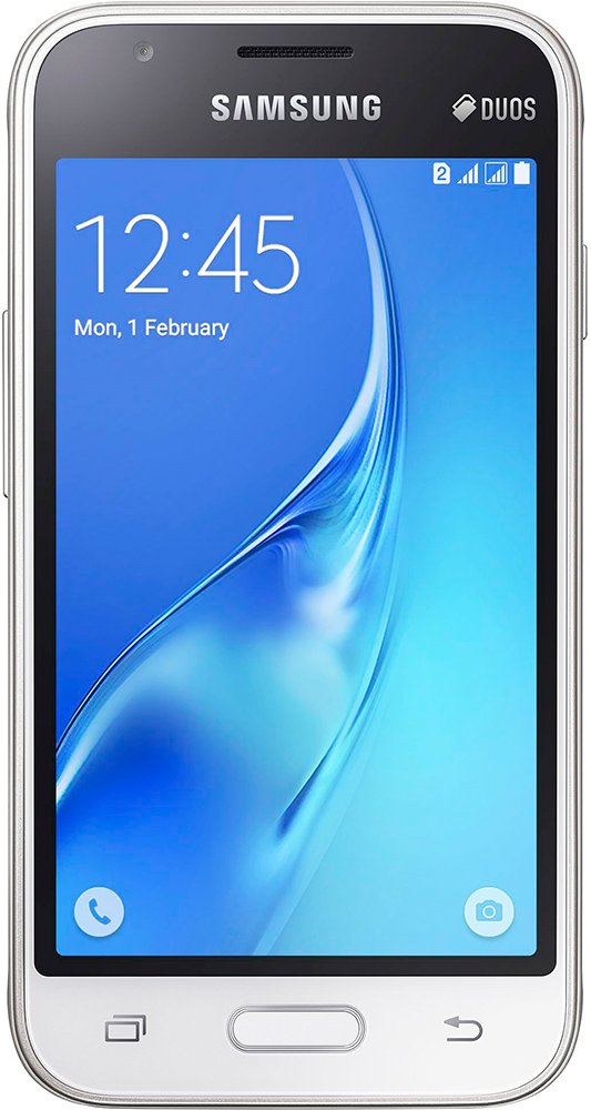 Мобильный телефон Samsung Galaxy J1 mini White (SM-J105H/DS)