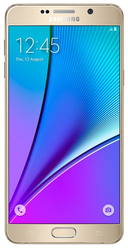 Мобильный телефон Samsung Galaxy Note 5 Duos (32Gb) Gold (SM-N9200)