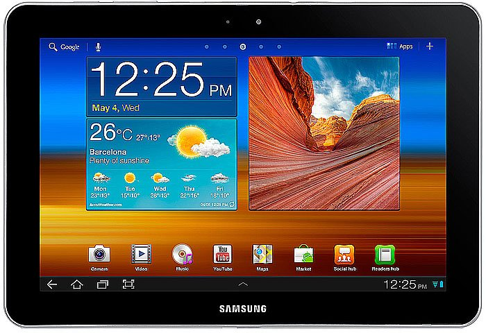 Планшет Samsung Galaxy Tab 10.1 32GB 3G Soft Black (GT-P7500)