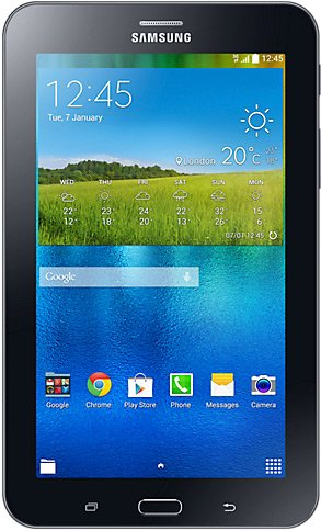 Планшет Samsung Galaxy Tab 3 7.0 8GB 3G Ebony Black (SM-T116) фото