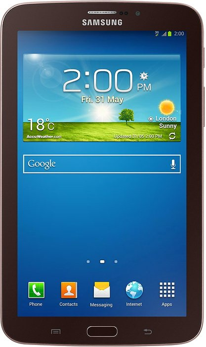 Планшет Samsung Galaxy Tab 3 7.0 8GB 3G Golden Brown (SM-T2110)