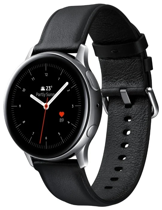 Смарт-часы Samsung Galaxy Watch Active2 Stainless Steel 44mm Silver фото