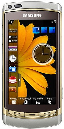 Мобильный телефон Samsung GT-i8910 Omnia HD Gold Edition