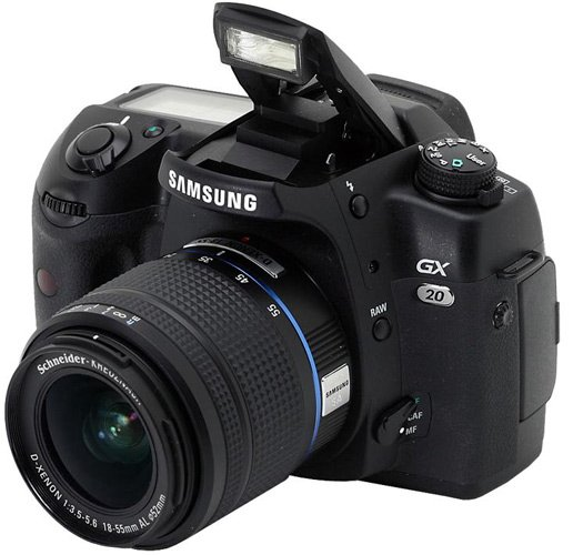 Permanent Link to Samsung announces GX-20. View all posts in Canon