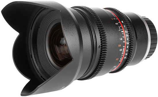 Объектив Samyang 16mm T2.2 ED AS UMC CS VDSLR Sony E
