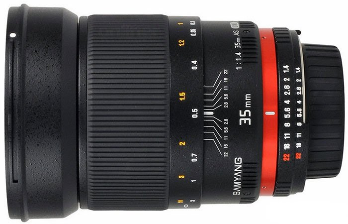 �������� Samyang 35mm f/1.4 ED AS UMC Canon EF
