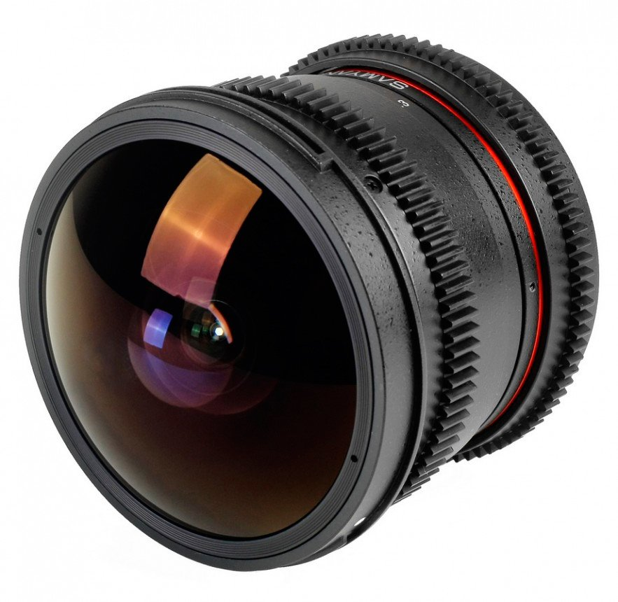Объектив Samyang 8mm T3.8 AS IF UMC Fish-eye CS II VDSLR Sony E
