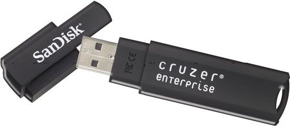 USB-флэш накопитель SanDisk Cruzer Enterprise 4Gb