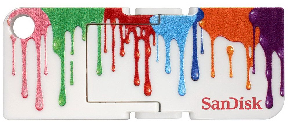 USB-флэш накопитель SanDisk Cruzer Pop Paint 32GB (SDCZ53A-032G-B35)