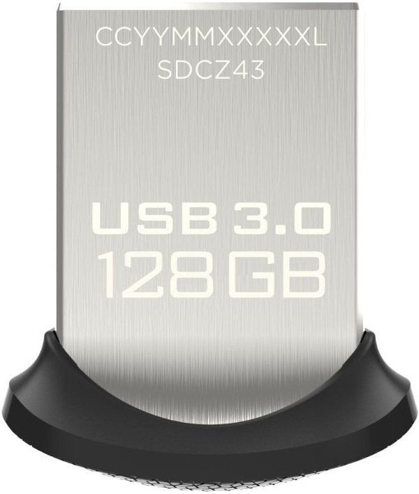 USB-флэш накопитель SanDisk Ultra Fit 128GB (SDCZ43-128G-G46) фото