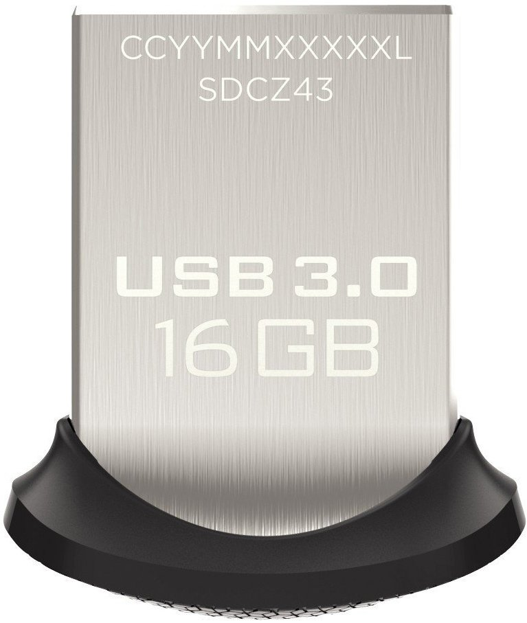 USB-флэш накопитель SanDisk Ultra Fit 3.0 16GB (SDCZ43-016G-G46) фото