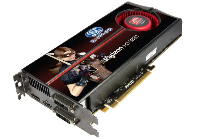 Видеокарта Sapphire HD5850 1GB GDDR5 PCIE (Game Edition) Radeon HD 5850 1Gb 256bit