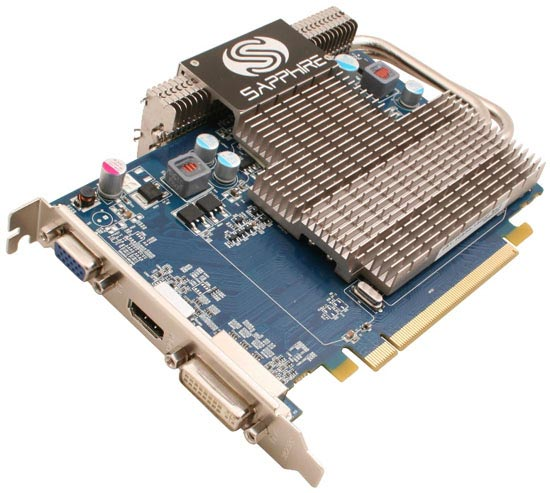 Видеокарта Sapphire Ultimate HD5550 1GB DDR2 Radeon HD 5550 256bit