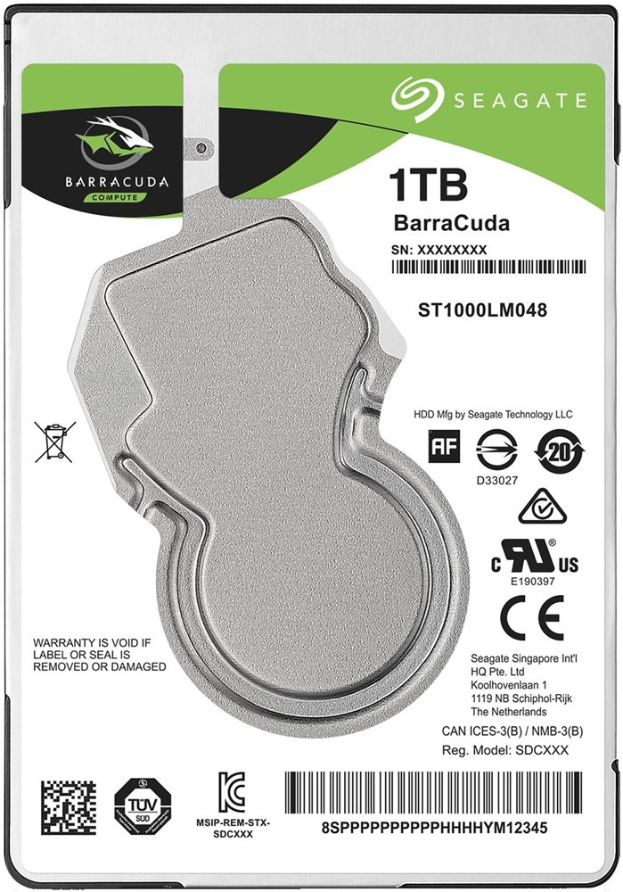 Жесткий диск Seagate Barracuda (ST1000LM048) 1000Gb