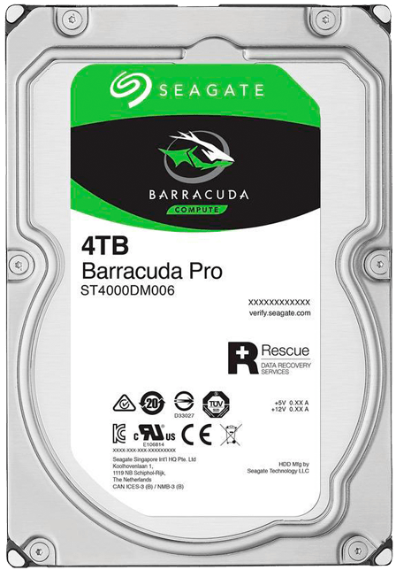 Жесткий диск Seagate Barracuda Pro (ST4000DM006) 4000Gb фото
